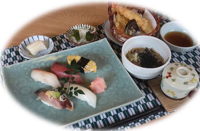 週替わりランチ③地魚寿司膳1,250円