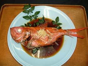 稲取産金目鯛姿煮